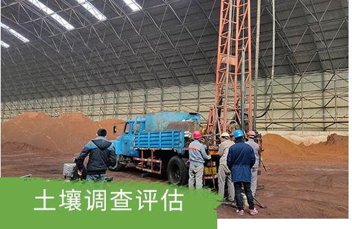 某化工股份有限公司土壤污染状况调查